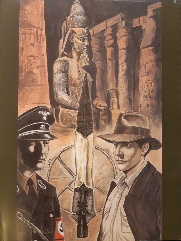 Art-line collectie 1- Bewaker van de lans