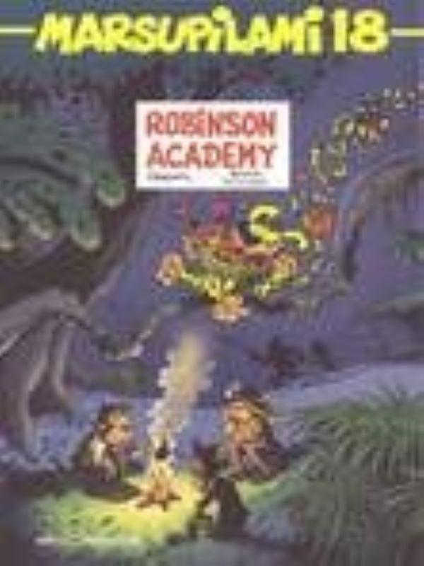 Marsupilami 18- Robinson academy