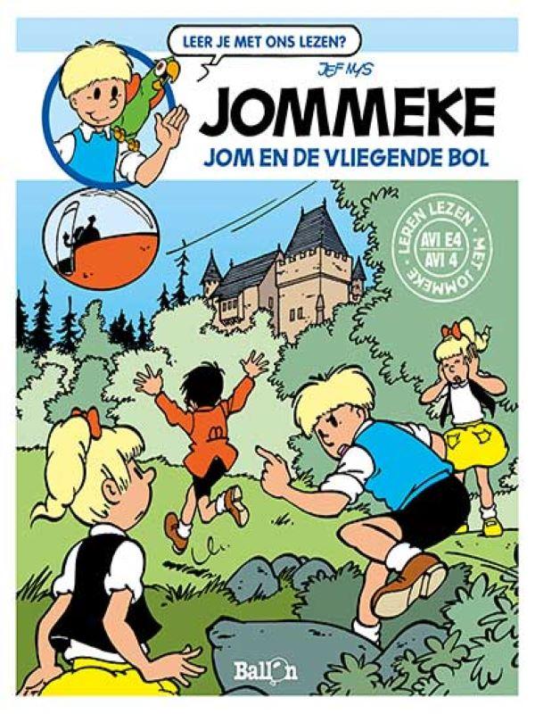 jommeke AVI- Jom en de vliegende bol