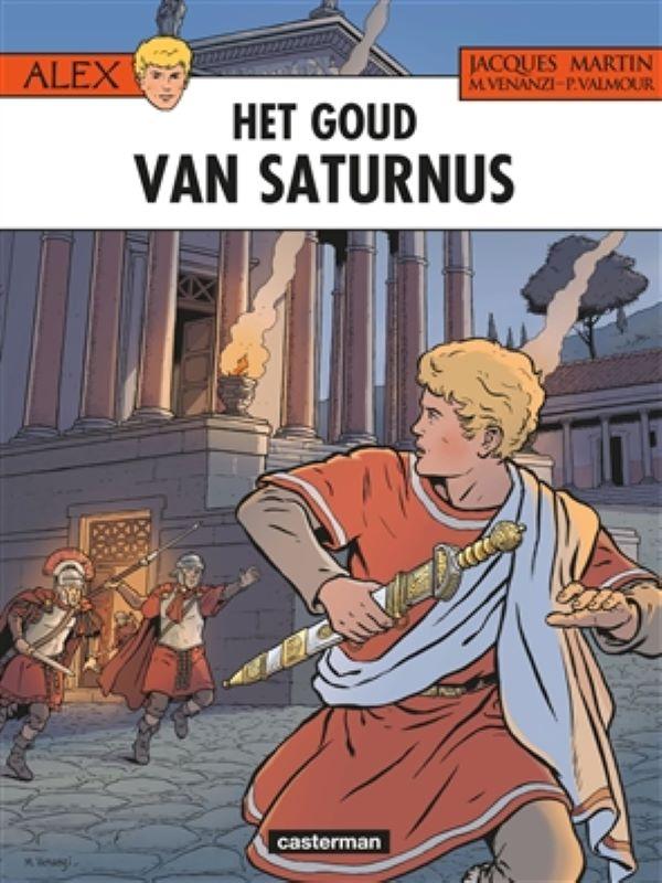 Alex 35- Het goud van saturnus