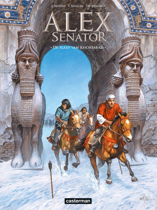 Alex senator 11- De slaaf van Khorsabad