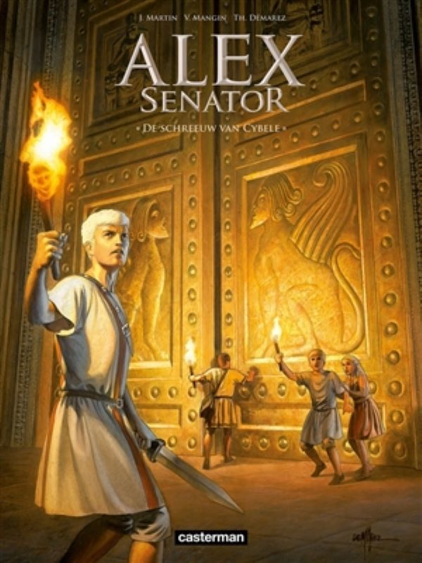 Alex senator 5- De schreeuw van Cybele