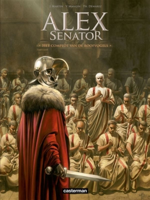 Alex senator 3- Het complot van de roofvogels