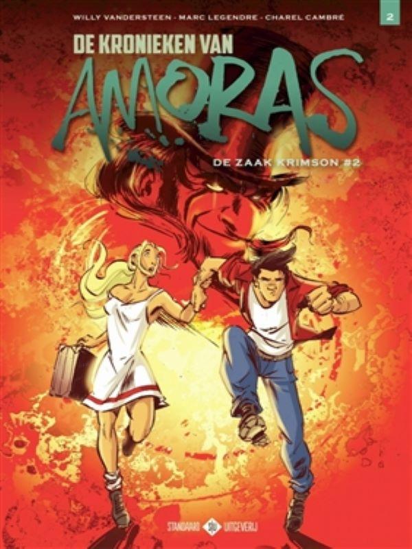 Amoras, De kronieken van 2- De zaak Krimson