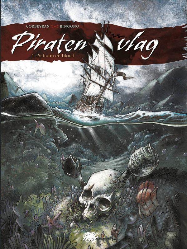 Piratenvlag 1- Van schuim en bloed
