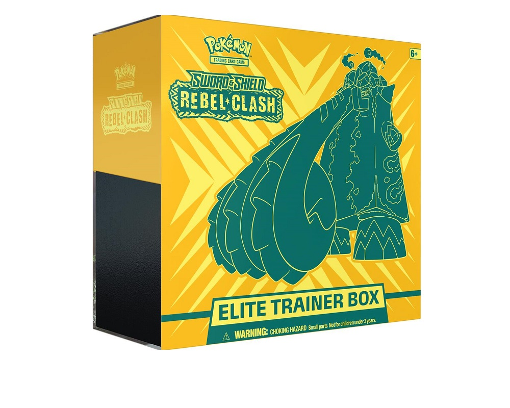 Sword & Shield Rebel Clash Elite Trainer