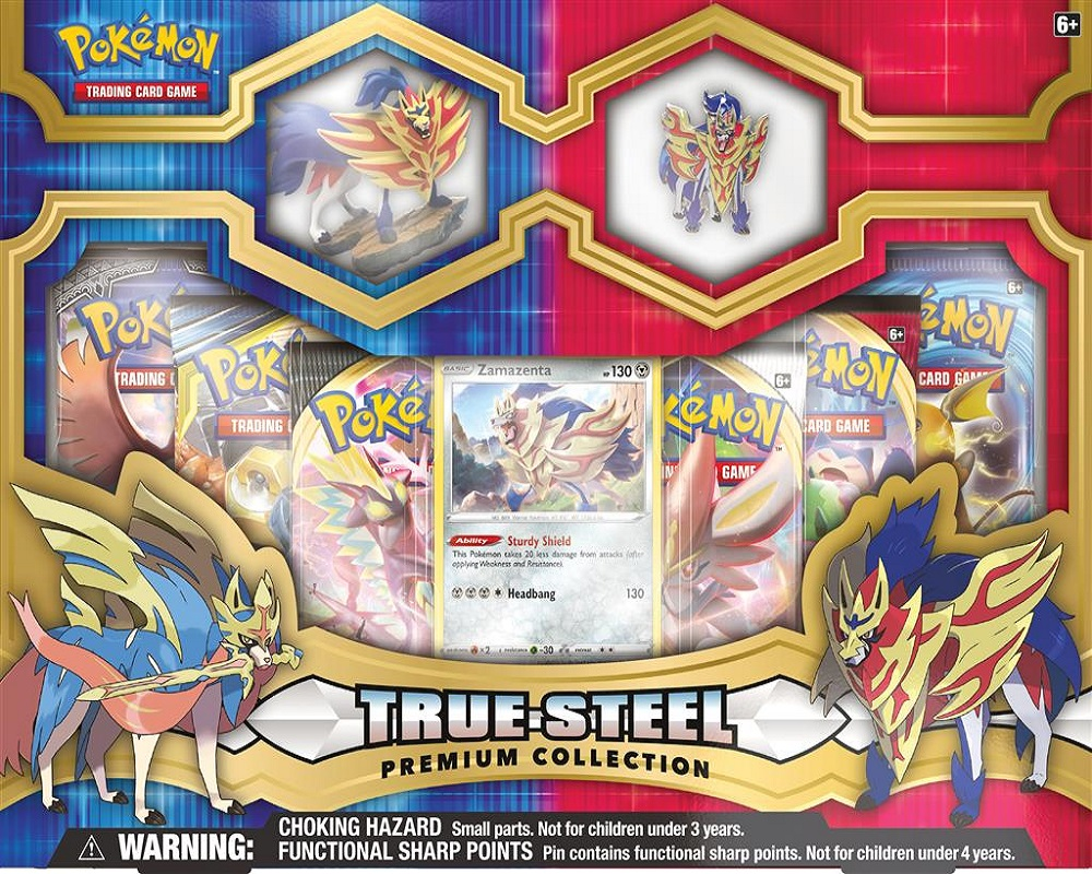 True steel premium figure & pin collection