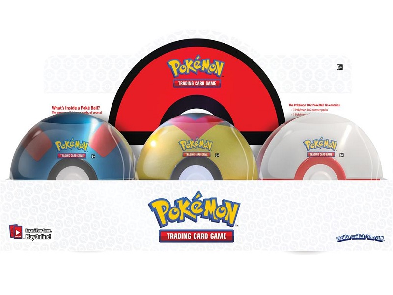 March Pokeball Tin