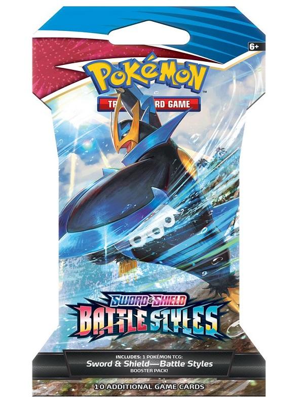 Sword & Shield Battle Styles Sleeved