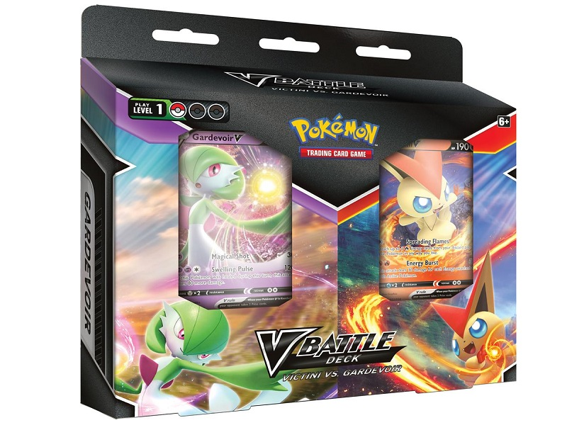 V Battle Decks Bundle Victini Gardevoir