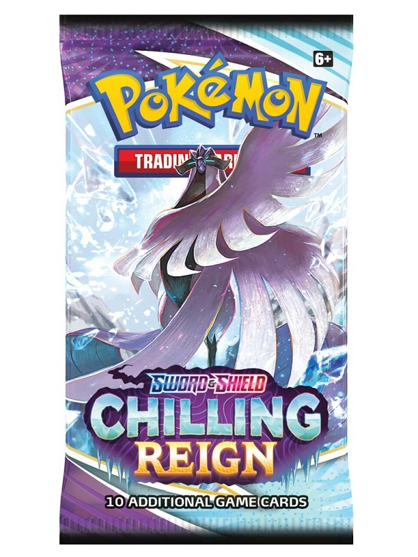 SWORD & SHIELD 6 Chilling reign- boosterpack