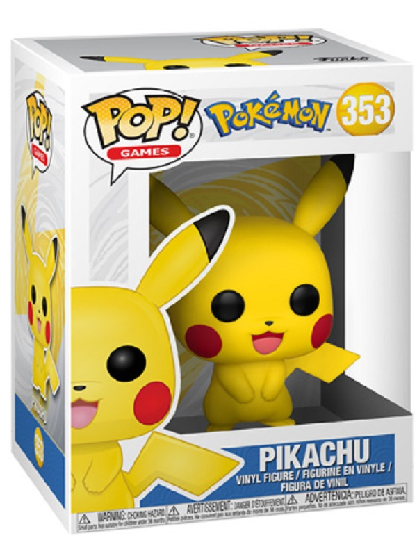 Pokemon- Pikachu - 353