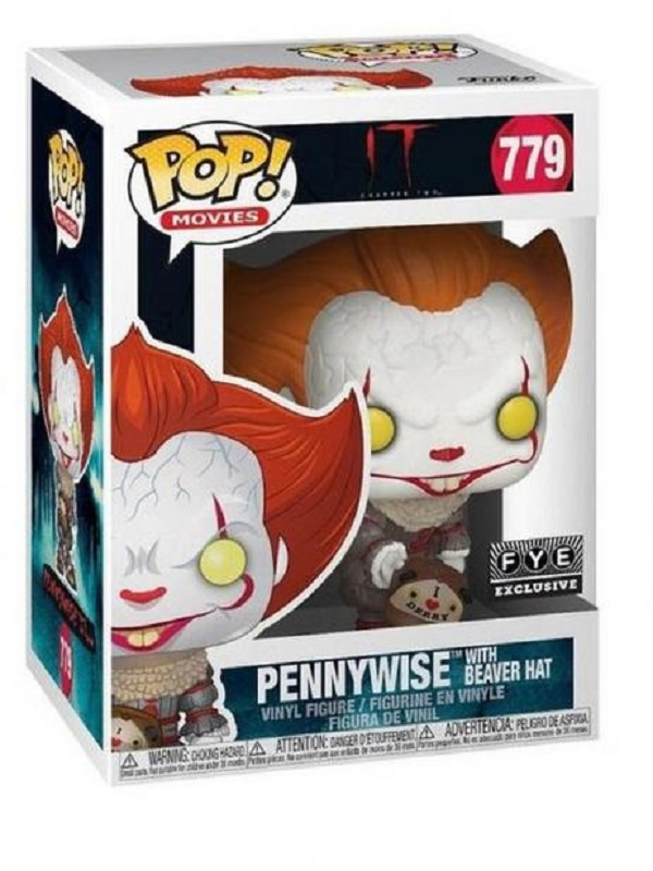 Pennywise with beaver hat - 779