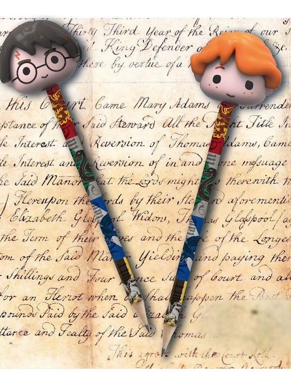 Harry Potter- 2 Potloden met gom