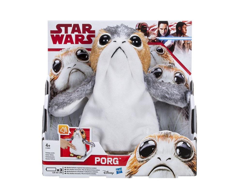 Star Wars- interactive plush Porg