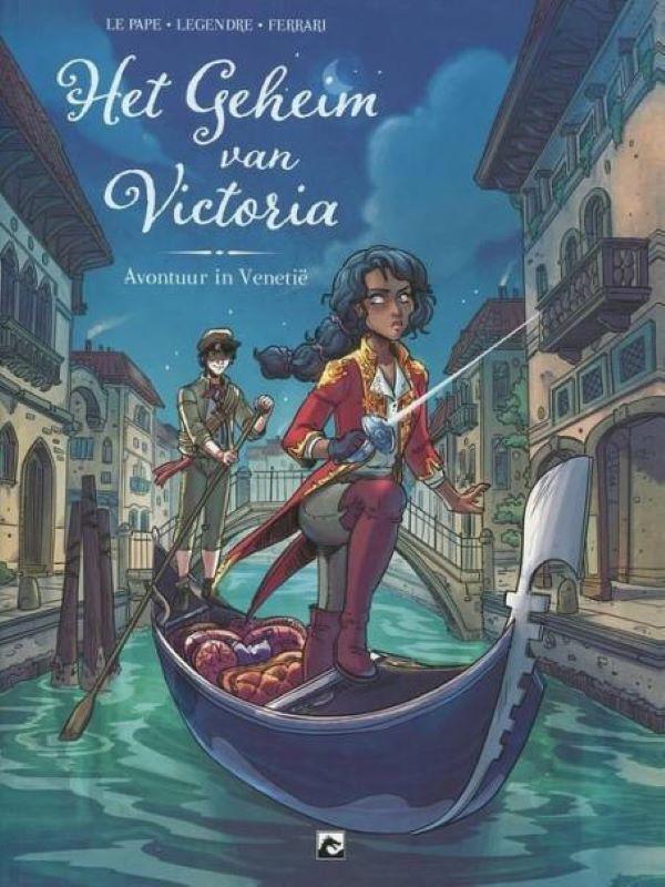 Het geheim van Victoria 1- Avontuur in Venetië