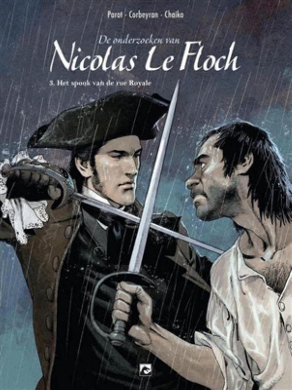 Nicolas Le Floch 3- Het spook van de rue Royale