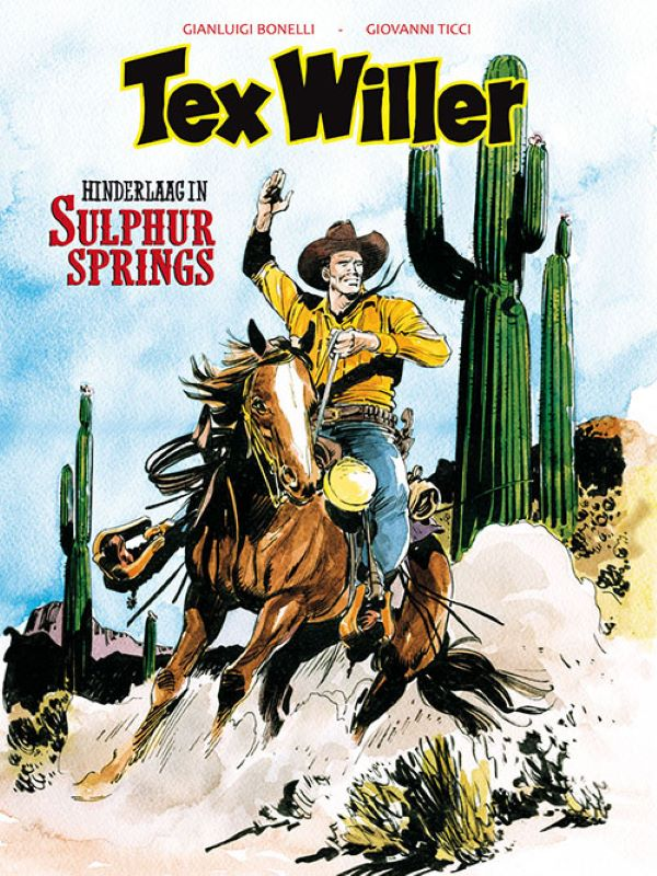 Tex Willer 9- Hinderlaag in Sulphur springs