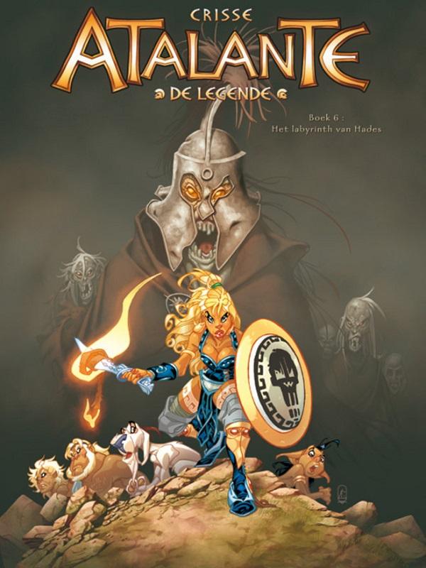 Atalante, de legende 6 - Het labyrinth van Hades