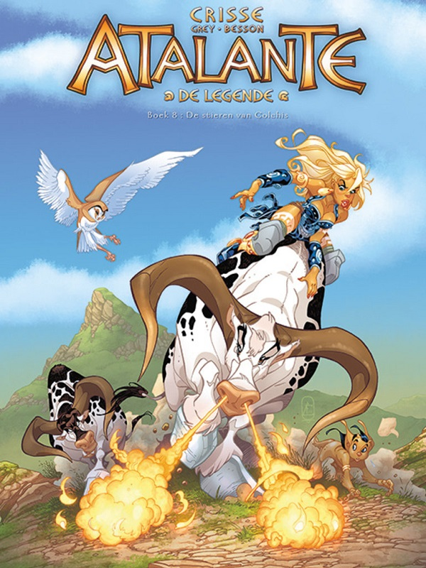 Atalante, de legende 8- De stieren van Colchis