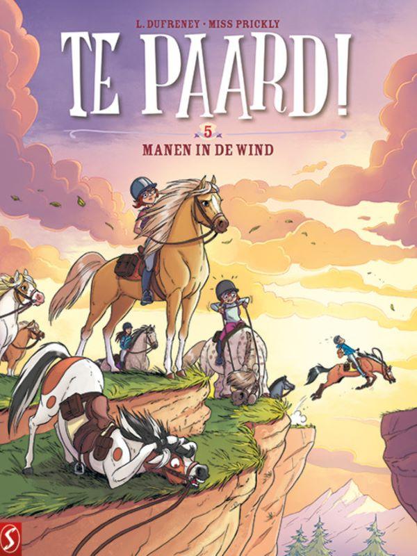 Te paard 5- Manen in de wind