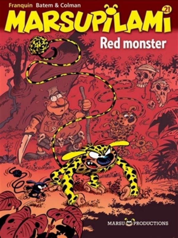 Marsupilami 21- Red monster