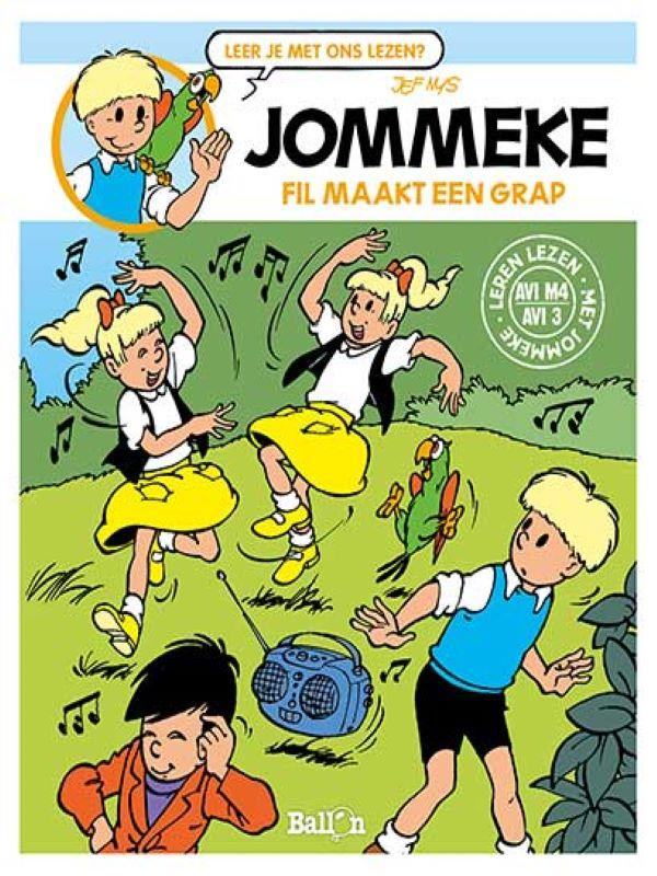 jommeke AVI- Fil maakt een grap