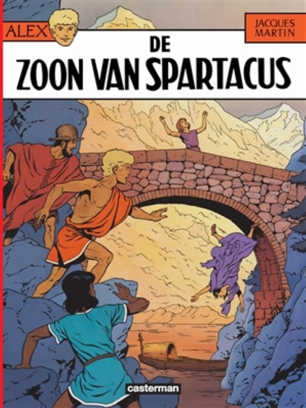 Alex 12- De zoon van Spartacus