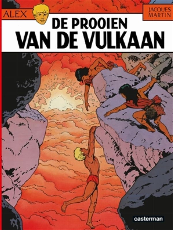 Alex 14- De prooien van de vulkaan