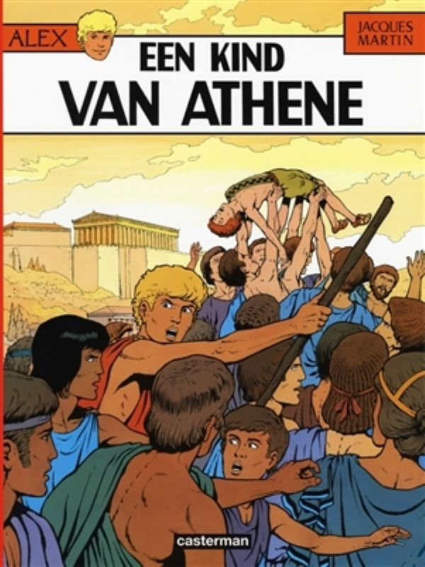 Alex 15- Een kind van Athene