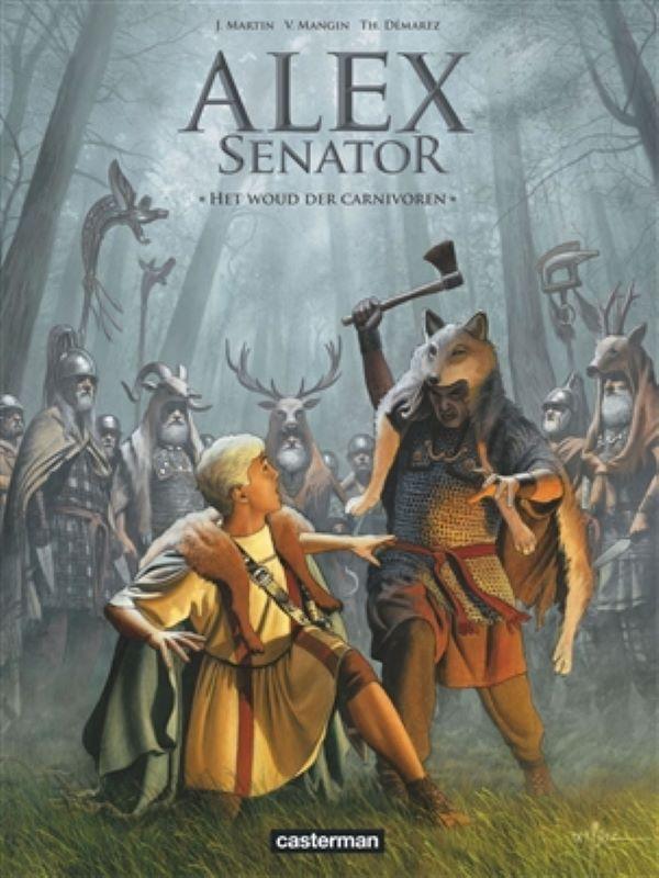 Alex senator 10- Het woud der carnivoren