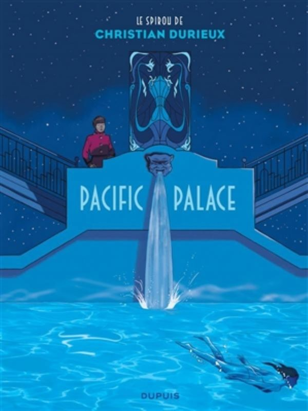 Robbedoes door ... 17- Pacific palace