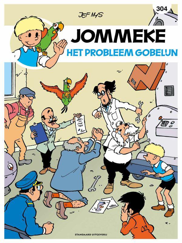 Jommeke 304- Het probleem Gobelijn