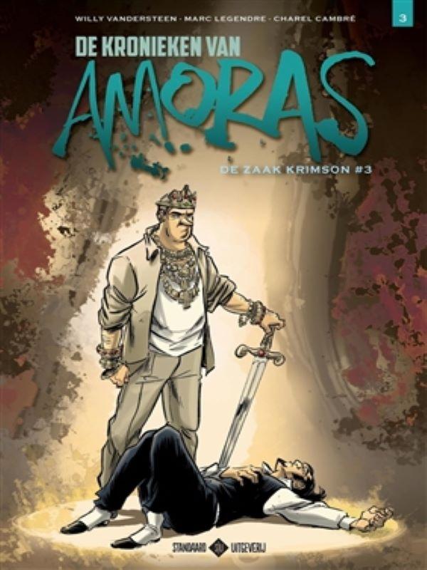 Amoras, De kronieken van 3- De zaak Krimson