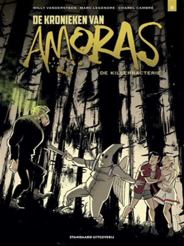 Amoras, De kronieken van 5- De killerbacterie