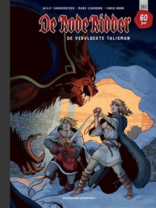 De Rode Ridder 263 Luxe- De vervloekte talisman