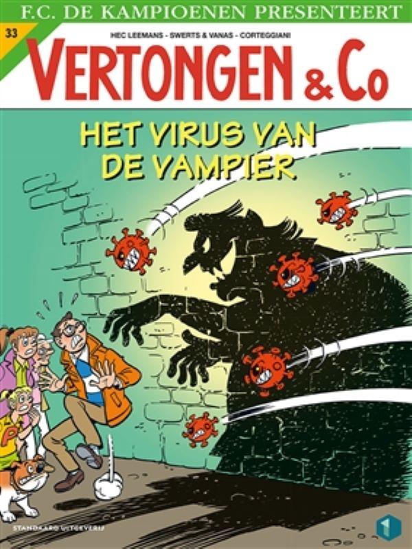 Vertongen en co 33- Het virus van de vampier