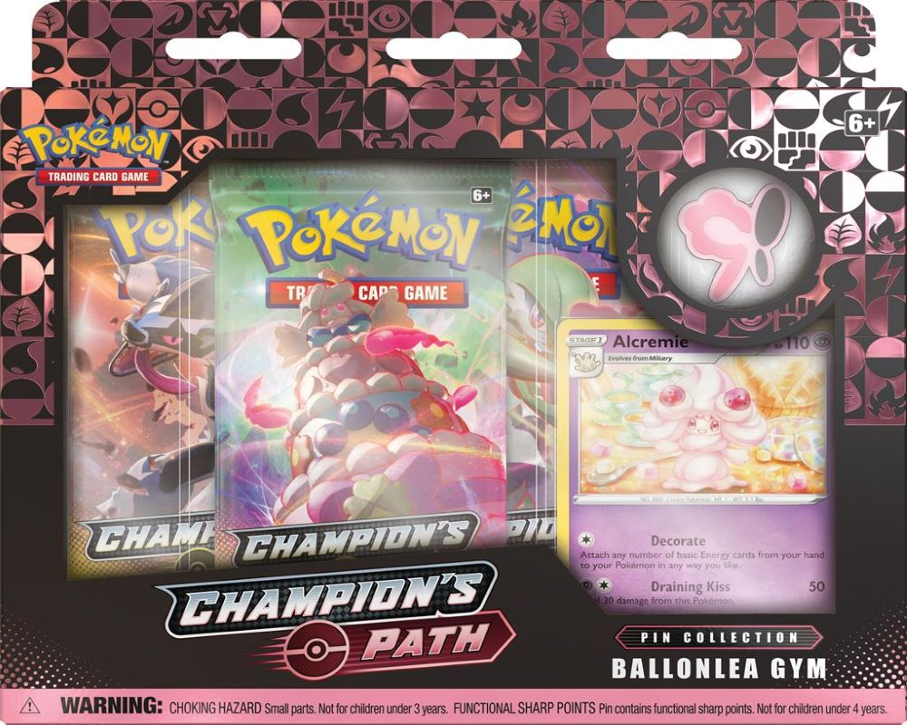 Champion's Path November Pin Collection