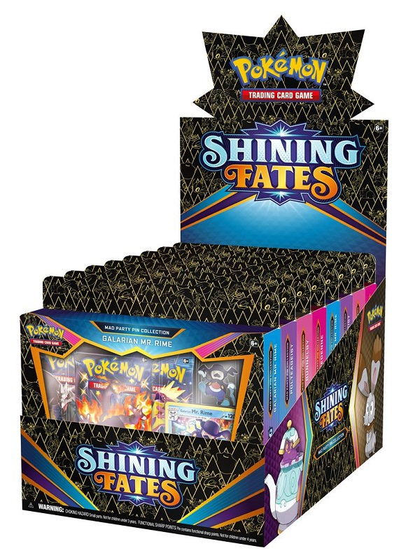 Shining Fates Mad Party Pin Collection