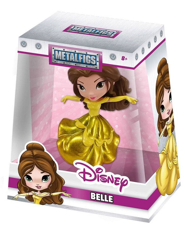 Belle- Metalfigs Mini figure (gele)