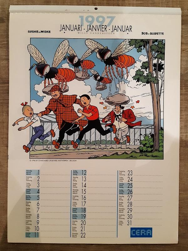 Suske en Wiske Kalender 1997