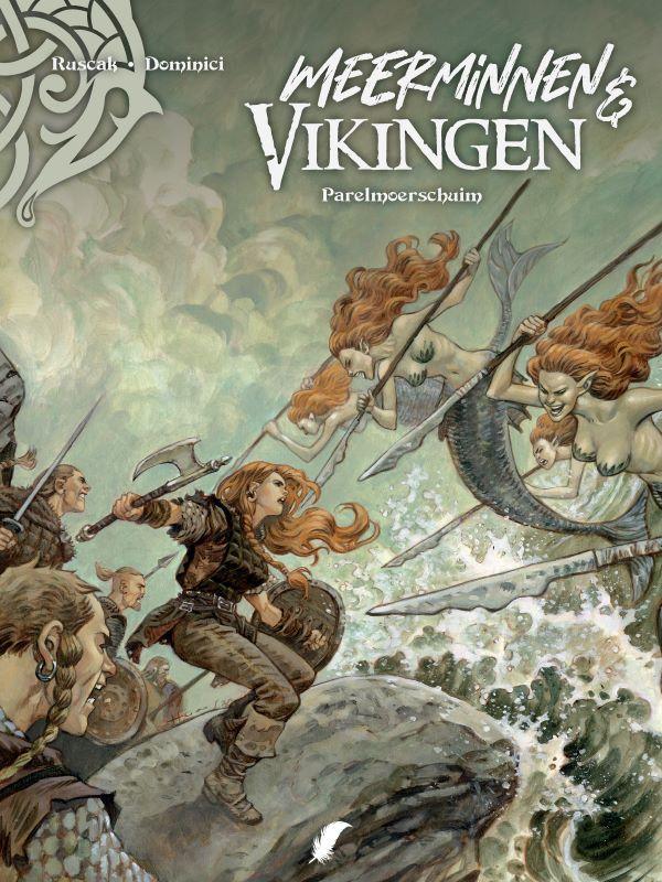 Meerminnen & Vikingen 2- Parelmoerschuim SC