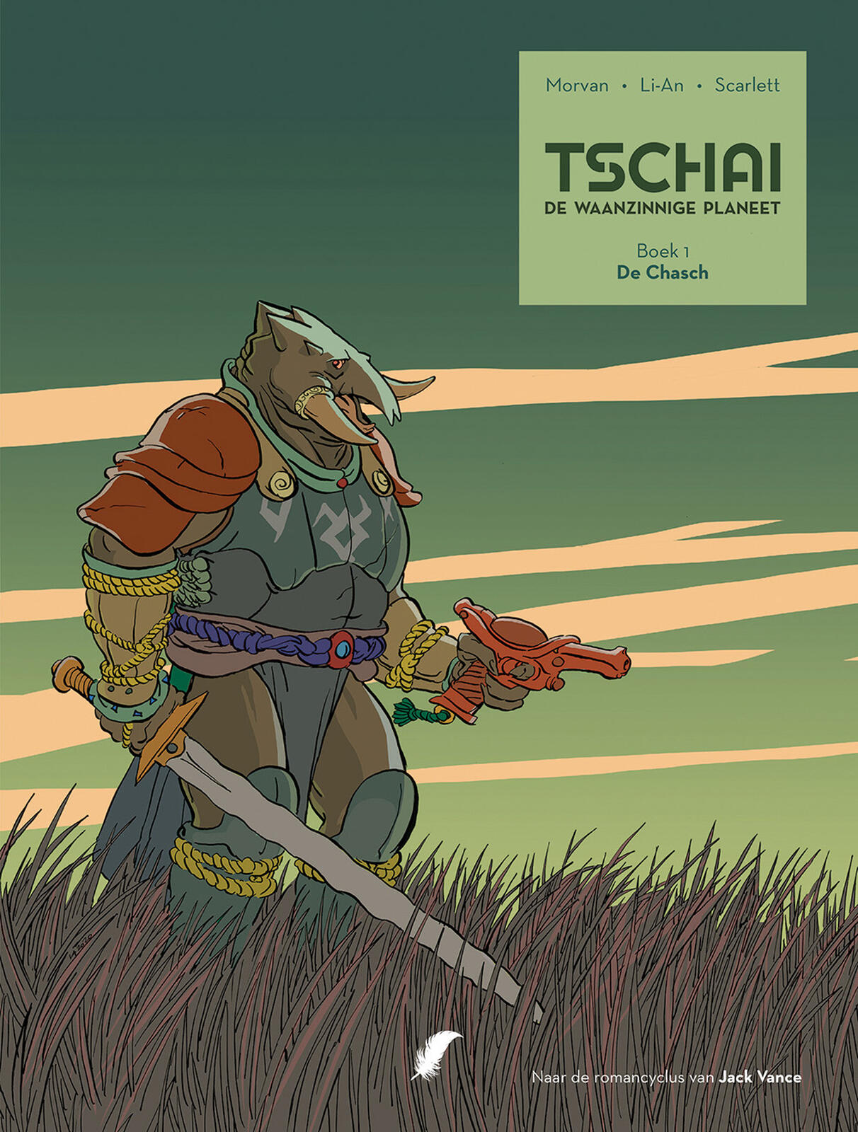 Tschai, De Waanzinnige Planeet integraal 1- De Chasch