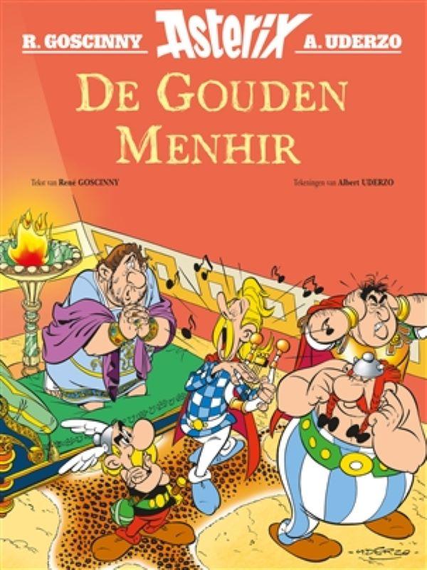Asterix 4- De gouden Menhir