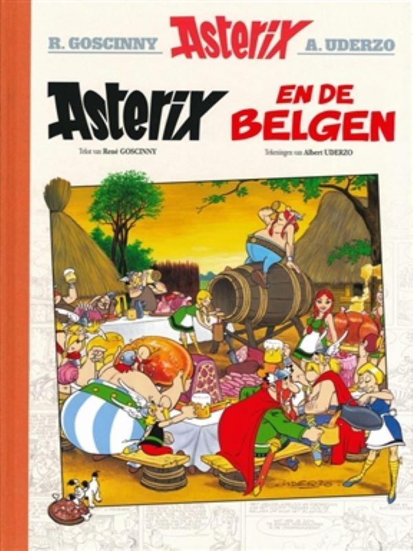 Asterix en de Belgen - luxe