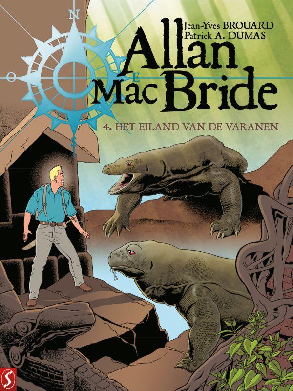 Allan Mac Bride 4- Het eiland van de varanen