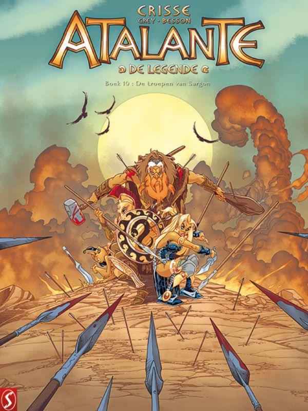 Atalante, de legende 10- De troepen van Sargon