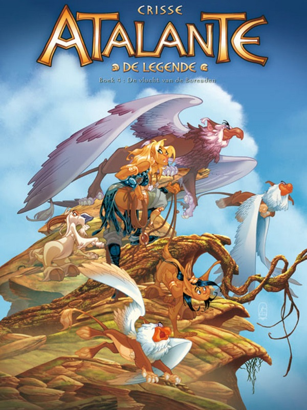 Atalante, de legende 4- De vlucht van de Boreaden
