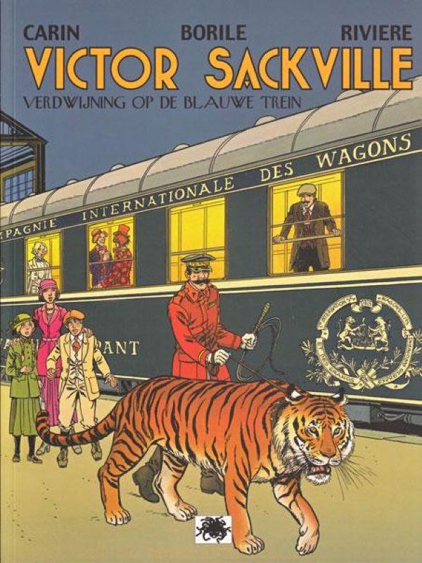 Victor Sackville 21- Verdwijning op de blauwe trein